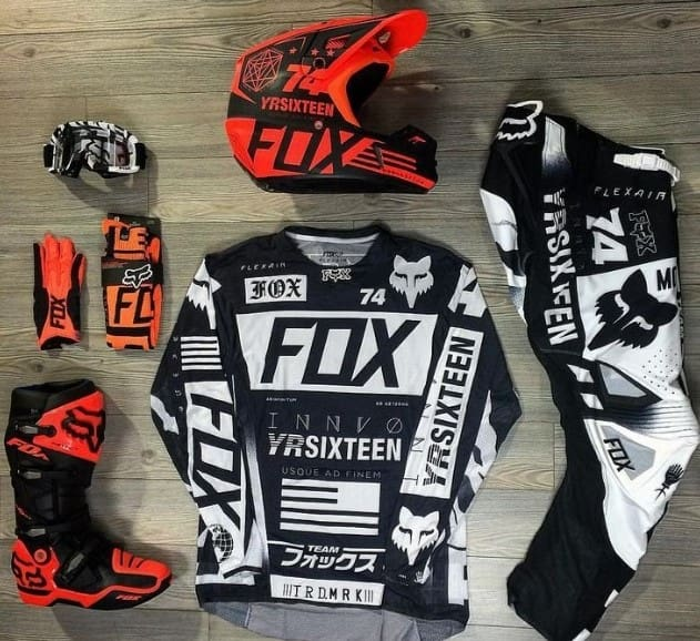 The FOX Dirt Bike Gear