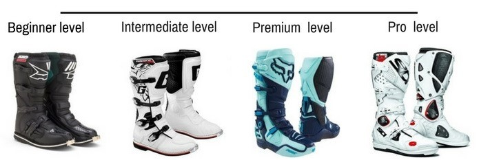 beginner drit bike boots