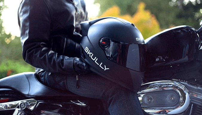 The Bluetooth Motorcycle Helmet